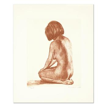 "H. Lurist - ""Nude I"" Limited Edition Lithograph, Numbered and Hand Signed with Letter of Authenticity. $395"