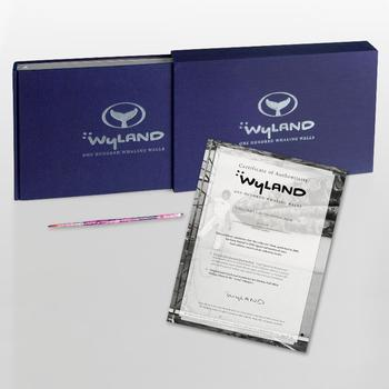 """Wyland: 100 Whaling Walls""(2008) Ltd Ed Collector's Fine Art Book, w/Paint Brush! No.& Hand Signed Front Page, w/Cert List $790"