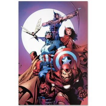 "Marvel Comics! ""Avengers #80"" LIMITED EDITION Giclee on Canvas by David Finch, Numbered with Certificate! List $500"