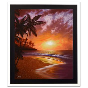 "Jon Rattenbury! ""Shores Of Paradise"" Ltd Ed Giclee on Canvas, Numbered and Hand Signed with Certificate! List $795"