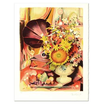 "Robert Vernet Bonfort - ""Bouquet"" Limited Edition Lithograph, Numbered and Hand Signed! List $995"
