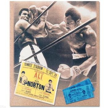 Muhammad Ali and Ken Norton! Licensed Photograph of the Heavyweight Champ!