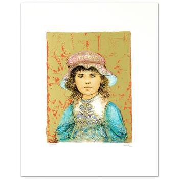 """Edna Hibel (1917-2014)! """"Deidre"""" Limited Edition Lithograph, Numbered and Hand Signed with Certificate! List $540"""