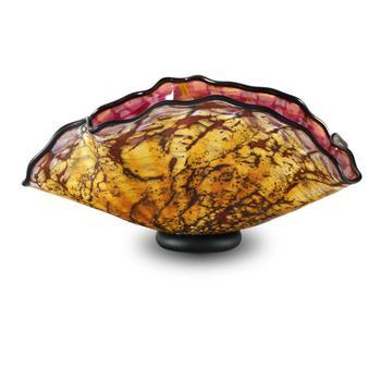 """""""Primitive Shell"""" Hand Blown Glass Sculpture, Hand Signed by GartnerBlade Glass. List $270"""