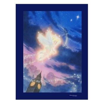 """John Alvin (d.2008)! """"Tink Shows the Way"""" Ltd Ed Giclee on Canvas, Licensed by Disney Fine Art, No. & Hand Signed w/COA! $495"""