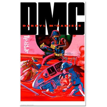 """I...AM DMC"" is a Chromatic Pigment Ink Limited Edition, Numbered and Hand-Signed by ""DMC""!"