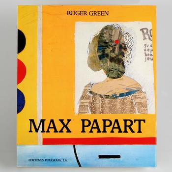 This (Spanish Version) Fine Art Book Features the work of Max Papart (1911-1994), with Introduction by Roger Green! $125