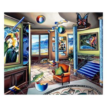 """Alexander Astahov, """"226946"""" Limited Edition on Canvas, Numbered and Hand Signed with COA"""