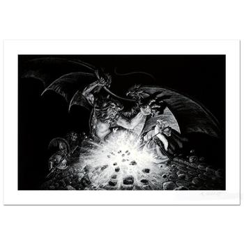 """Greg Hildebrandt! """"Gandalf Versus Balrog"""" Limited Edition Giclee, Numbered and Hand Signed with Certificate! List $995"""