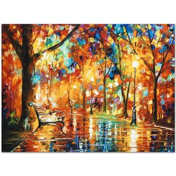 """Leonid Afremov """"Burst of Autumn"""" Limited Edition Giclee on Gallery Wrapped Canvas, Numbered and Signed; COA."""