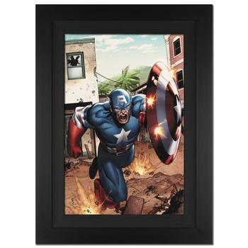Marvel Comics! Framed Ltd Ed Giclee on Canvas by Clayton Henry, No. and Hand Signed by Stan Lee with Certificate! List $1,750