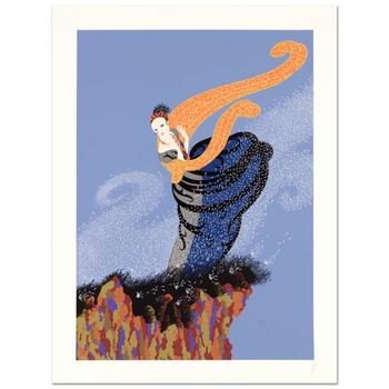 """Erte (1892-1990), """"Summer Breeze"""" Limited Edition Serigraph, Numbered and Hand Signed with Certificate. $8,150"""