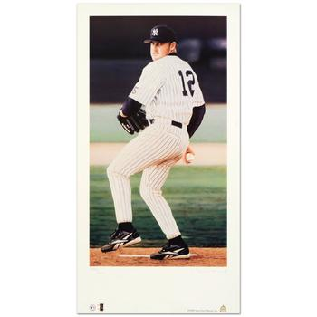 """Daniel M. Smith! """"Roger Clemens"""" Limited Edition Lithograph, Numbered and Hand Signed with Certificate! $200"""