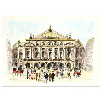 """Urbain Huchet - """"L'Opera"""" Limited Edition Lithograph, Numbered and Hand Signed! $995"""