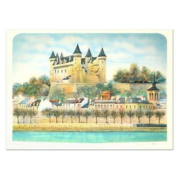"""Rolf Rafflewski - """"Chateau III"""" Limited Edition Lithograph, Numbered and Hand Signed!"""