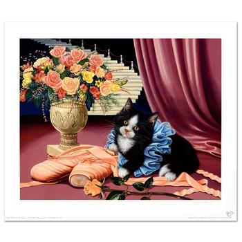 """Barbara Higgins-Bond! """"Dress Rehearsal"""" Limited Edition Lithograph! Numbered and Hand Signed by the Artist!"""