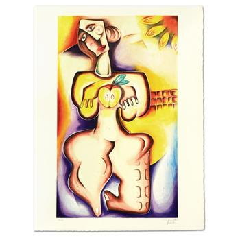 """Alexandra Nechita - """"The Intricacies of Self"""" Limited Edition Lithograph, Numbered and Hand Signed! List $4,500"""