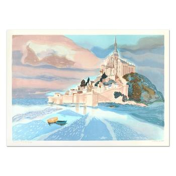 """Georges Lambert (1919-1998) - """"St Michele II"""" Limited Edition Lithograph, Numbered and Hand Signed!"""