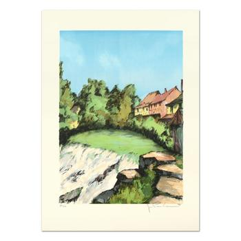 """Laurant - """"St. Tropez"""" Limited Edition Lithograph, Numbered and Hand Signed. List $995"""