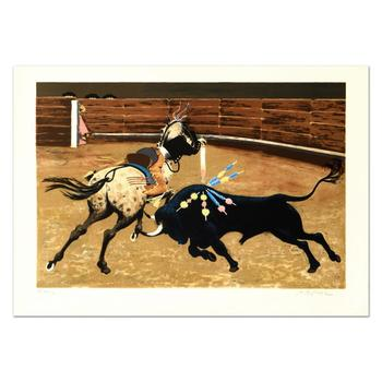 """Boyle - """"Bull Ring"""" Limited Edition Lithograph, Numbered and Hand Signed! $995"""