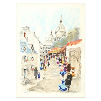 """Urbain Huchet - """"Sacre Coeuo"""" Limited Edition Lithograph, EA Numbered 23/50 and Hand Signed!"""