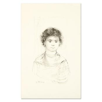 "Edna Hibel (1917-2014), ""Henri"" Limited Edition Lithograph, Numbered and Hand Signed with Certificate of Authenticity. List $490"