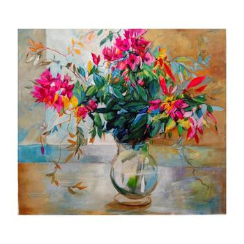 """Lenner Gogli, """"Abundant Blooms"""" Limited Edition on Canvas, Numbered and Hand Signed with Letter of Authenticity. List $1,650"""