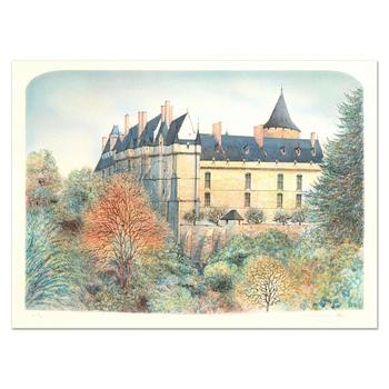 """Rolf Rafflewski - """"Chateau"""" - Limited Edition Lithograph, Numbered and Hand Signed!"""