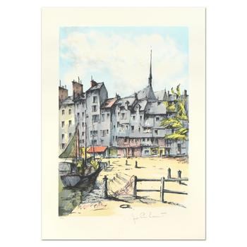 """Laurant - """"Honfleur"""" Limited Edition Lithograph, Numbered and Hand Signed. List $995"""