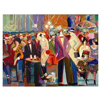 "Isaac Maimon, ""La Grande Barre"" Limited Edition Serigraph, Numbered and Hand Signed with Letter of Authenticity. List $650"