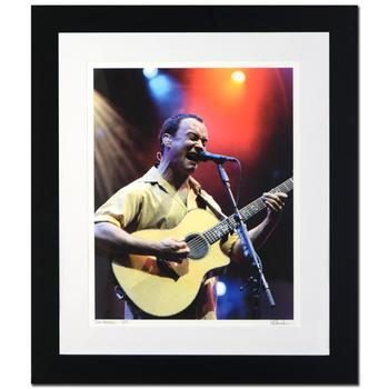 "Rob Shanahan! ""Dave Matthews"" Framed Limited Edition Giclee, Numbered and Hand Signed with Certificate! $600"