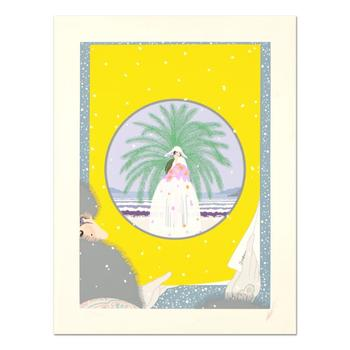 "Erte (1892-1990) - ""Riviera"" Limited Edition Serigraph, Numbered and Hand Signed with Certificate. $5,500"
