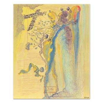 "Salvador Dali (1904-1989) - ""Shine of Glorious Bodies"" Ltd Ed Ceramic Tile, Numbered with COA! List: $450"