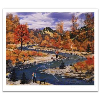 "Jane Wooster Scott! ""Trail Creek Autumn"" Ltd Ed Lithograph, Numbered and Hand Signed with Certificate!"