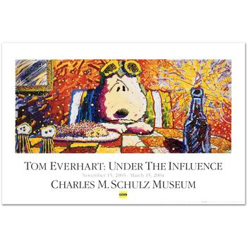 """Last Supper"" Fine Art Poster by Renowned Charles Schulz Protege Tom Everhart!"