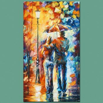 "Leonid Afremov ""Warmth"" Limited Edition Giclee on Gallery Wrapped Canvas, Numbered and Signed; COA."