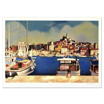 "Robert Vernet Bonfort - ""Plessis Bourre"" Limited Edition Lithograph, Numbered and Hand Signed! List $995"