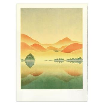 """Rand - """"Sunrise"""" Limited Edition Lithograph, Numbered and Hand Signed. List $995"""