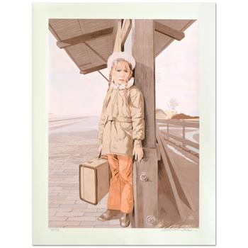 """William Nelson - """"Little Girl Lost"""" Limited Edition Serigraph, Numbered and Hand Signed by the Artist! List $500"""
