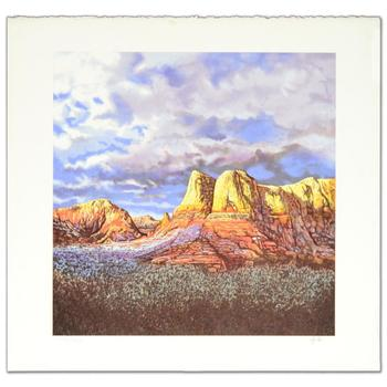 """Jorge Braun Tarallo! """"Oak Creek Sunset"""" Ltd Ed Lithograph, Numbered and Hand Signed with Certificate! $995"""
