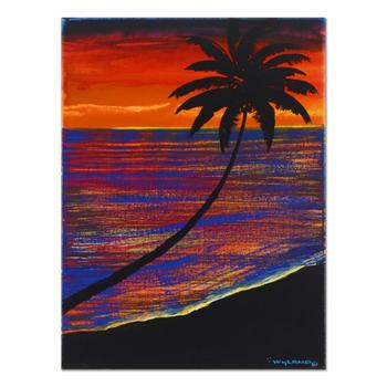 """Wyland, """"Key Life"""" Original Oil Painting on Canvas, Hand Signed with Certificate of Authenticity."""