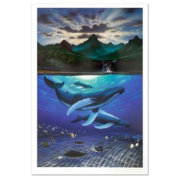 "Wyland! ""Dawn of Creation"" Limited Edition Lithograph, Numbered and Hand Signed with Certificate! List $920"