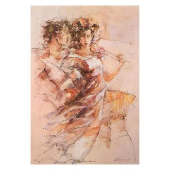 """Gary Benfield, """"Heavenly Dance"""" Limited Edition on Canvas, Numbered and Hand Signed with Letter of Authenticity. List $1,950"""