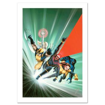 """Marvel! """"Astonishing X-Men #1"""" Ltd Ed Giclee on Canvas by John Cassaday, Numbered & Hand Signed by Stan Lee w/Cert! List $900"""