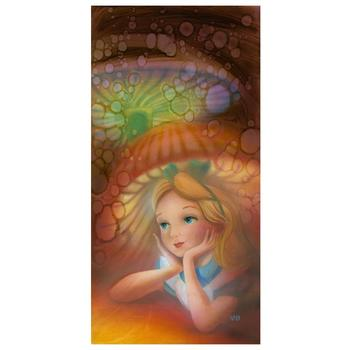 """Rowe & Disney! """"Wondering"""" Ltd Ed Hand Embellished Giclee on Stretched Canvas, No. & Hand Signed w/COA! $395"""