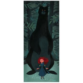 """""""Something's Watching Us"""" Limited Edition on Canvas by Daniel Arriaga from Disney Fine Art; Numbered, Signed, with COA!"""