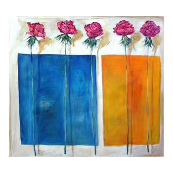 """Lenner Gogli, """"Coming Up Roses"""" Limited Edition on Canvas, Numbered and Hand Signed with Letter of Authenticity. List $700"""