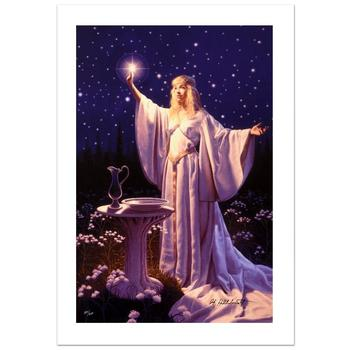 """Greg Hildebrandt! """"The Ring Of Galadriel"""" Ltd Ed Giclee on Canvas, Numbered and Hand Signed w/Cert! List $995"""