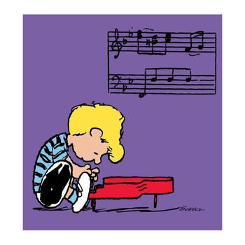 """""""Schroeder"""" Hand Numbered Limited Edition Canvas Chromatic Pigment Ink Fine Art Print from the original artwork. COA!"""