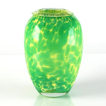 Novaro (1943-2014)! Original Hand-Blown Glass Vase Sculpture, Hand Signed with Certificate! List $950
